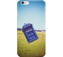 The Tardis Is Landing in Puerto Rico iPhone Case/Skin