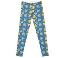 Retro 90s Pattern Leggings