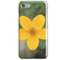 Blooming Yellow Wildflower iPhone Case/Skin