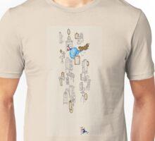alice falling Unisex T-Shirt