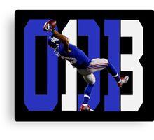 Odell Beckham Jr - Catch Canvas Print