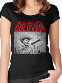 Mexicans For Golovkin Women's Fitted Scoop T-Shirt