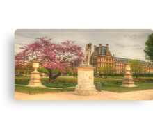 The Beauty of the Tuileries Canvas Print