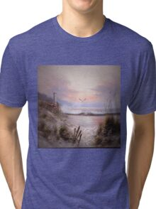 As The Sunsets Tri-blend T-Shirt