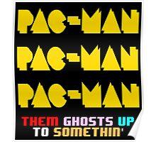 PACMAN/Jumpman Color Poster