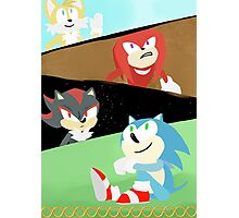 Sonic and Friends Photographic Print