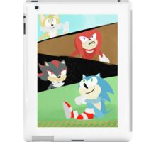 Sonic and Friends iPad Case/Skin