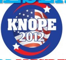 knope for prez Sticker