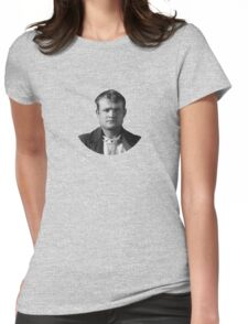 Butch Cassidy Mugshot Womens Fitted T-Shirt