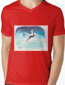 The Whales of August Mens V-Neck T-Shirt