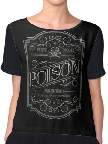 Pure Poison Women's Chiffon Top