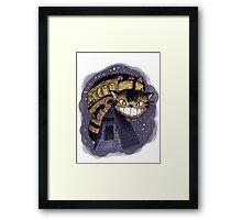 Catbus (Colour Version) Framed Print