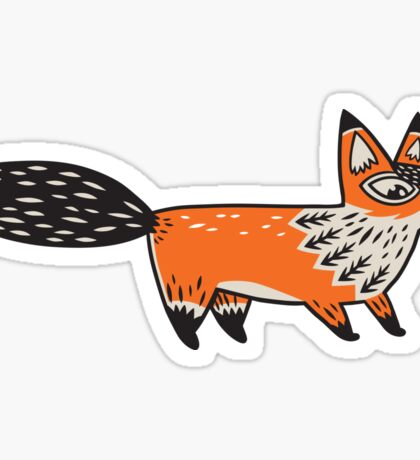 Foxes Sticker