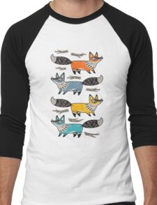 Foxes Men's Baseball ¾ T-Shirt