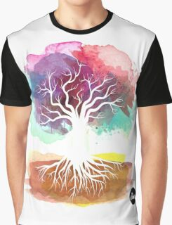 Tree watercolor Graphic T-Shirt