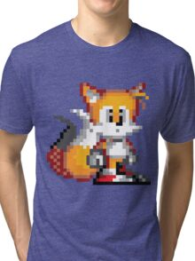 """Miles """"Tails"""" Prower - Sprite Tri-blend T-Shirt"""