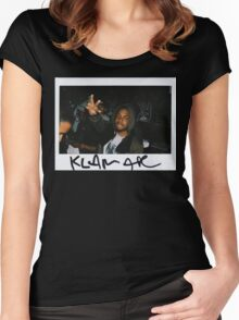 Kendrick Polaroid Women's Fitted Scoop T-Shirt