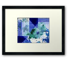 Flower Butterfly Abstract 2016 Framed Print
