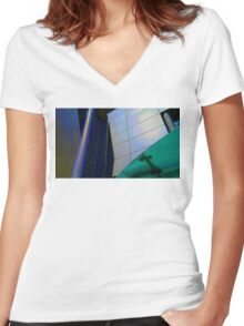 Bright Facade Women's Fitted V-Neck T-Shirt