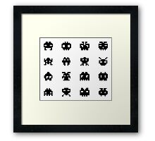 Invaders of Space Framed Print