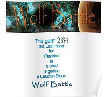 Wolf Battle   Poster
