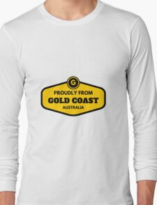 Proudly From Gold Coast Australia Long Sleeve T-Shirt