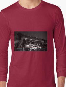Night Time Train Ride Long Sleeve T-Shirt