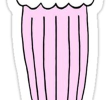 pink milkshake Sticker