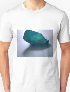 Blue Rose Petal Unisex T-Shirt