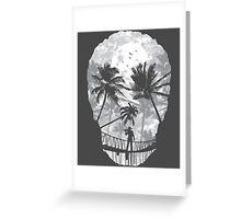 Desolate Death Greeting Card