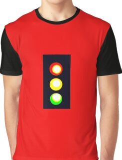 STOP AND GO LIGHT #2 Graphic T-Shirt