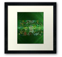 Legend of Zelda 25th Anniversary  Framed Print