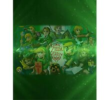 Legend of Zelda 25th Anniversary  Photographic Print