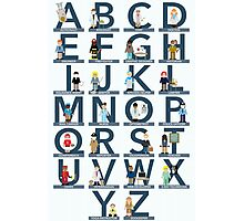 Occupations Alphabet Photographic Print