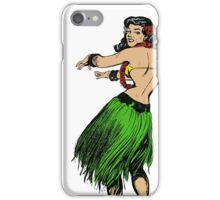 Vintage Hula Girl iPhone Case/Skin
