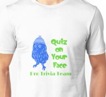 Quiz On Your Face In Colour Unisex T-Shirt