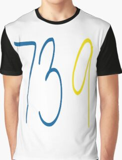 GOLDEN STATE WARRIORS 73 9 Graphic T-Shirt