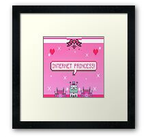 internet princess Framed Print