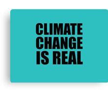 Climate Change . . .  Canvas Print