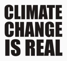 Climate Change . . .  Baby Tee