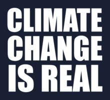 Climate Change is Real One Piece - Short Sleeve