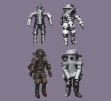 Retro Vintage Deep Sea Diver Collection Kids Tee