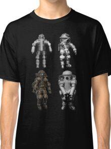 Retro Vintage Deep Sea Diver Collection Classic T-Shirt