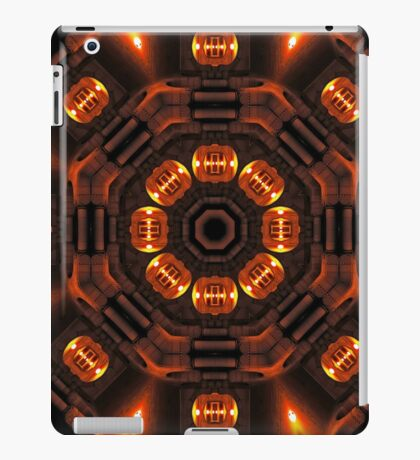 The time portal of history iPad Case/Skin