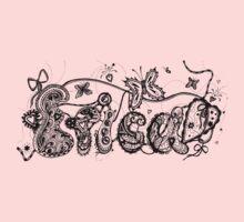 Erica - Aussie Tangled Name Kids Tee