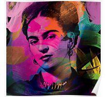 Frida Kahlo Colors Poster