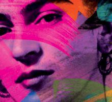 Frida Kahlo Colors Sticker