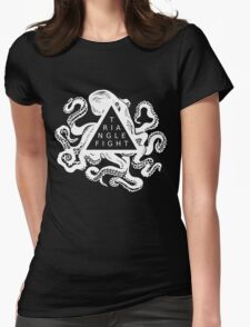 Triangle Fight Octo-Logo Womens Fitted T-Shirt