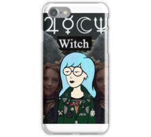 witch daria  iPhone Case/Skin