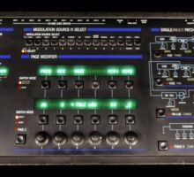 Oberheim Xpander Front Panel Sticker